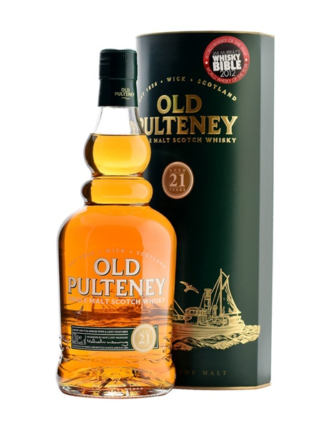 Rượu Old Pulteney 21 năm 700 ml / 46%