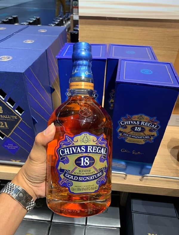 Chivas 18 Gold Signature