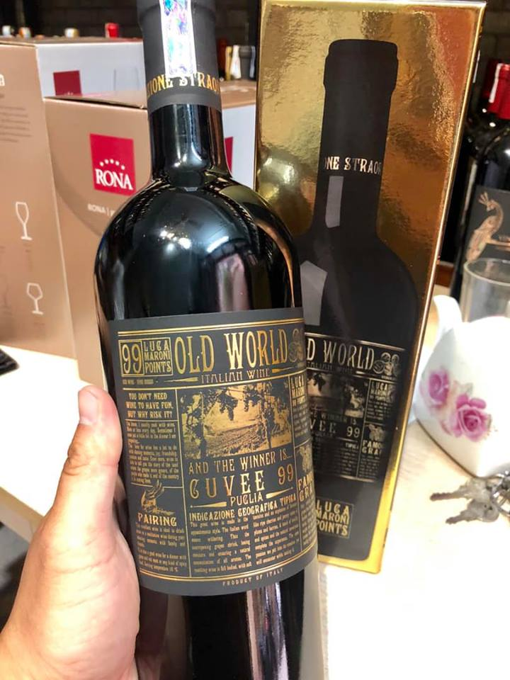 Rượu vang Old World Cuvee 99
